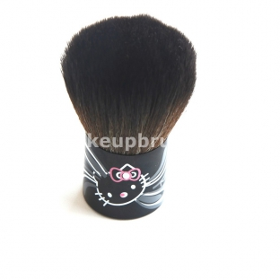 How to use Makeup Brushes for beginners  Hello kitty Brushes